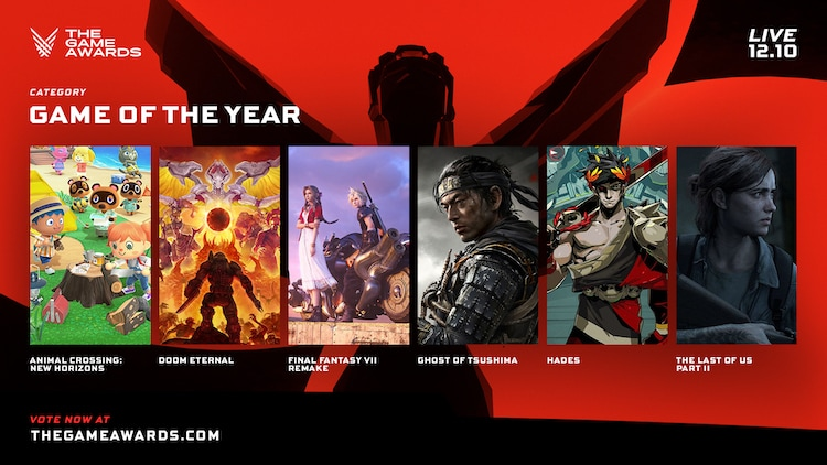 game of the year, goty, the game awards